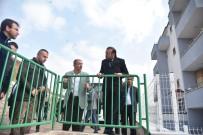 SOSYAL TESİS - Başkan Doğan, Serdar Mahallesinde İncelemelerde Bulundu