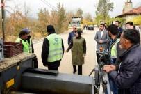 TOPLU ULAŞIM - Başkan Toru, Asfalt Çalışmalarını İnceledi
