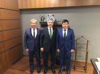 BÜYÜKBELEN - Başkan Yaralı Doğalgaz İçin Ankara'da Temaslarda Bulundu