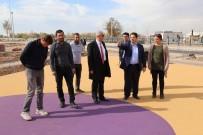 PİKNİK ALANLARI - Başkan Yazgı, Tacin Kent Parkta İncelemelerde Bulundu