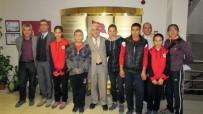 ÖMER CAN - Burhaniye'de Özel Sporcuların Milli Eğitim Ziyareti