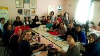 HEDİYELİK EŞYA - Burhaniye'de Tel Kırma Kursu