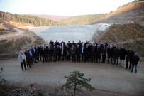 KAR YAĞıŞı - Büyükşehir Bürokratları Akçay Barajını İnceledi