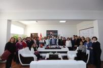 MESUT ÖZAKCAN - CHP Nilüfer Kadın Kollarından Başkan Özakcan'a Ziyaret