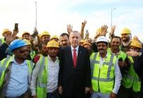 LIMAK İNŞAAT - Cumhurbaşkanı Erdoğan, Yapımı Süren Havalimanı Yeni Terminal Binasını Ziyaret Etti
