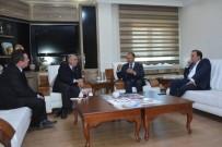 ORMAN MÜDÜRLÜĞÜ - Gürcistan'ın Trabzon Başkonsolosu Mikatsadze'den, Başkan Köksoy'a Ziyaret