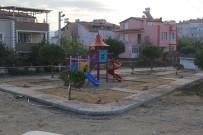 Hürriyet Mahallesi'nde Park Yapımı Devam Ediyor