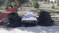 TELEFON KABLOSU - Jandarmadan 'Kablo Hırsızlığı Şebekesi'ne Operasyon