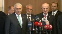 FATİH ŞAHİN - Kahraman Başbakan Yıldırım'la Görüştü