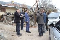 YARDIM TALEBİ - Kaymakam Emre Çitci Gökçedoğan Köyü'nü Ziyaret Etti