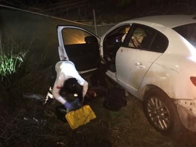 Kazada ölen şoför silahla yanağından vurulmuş