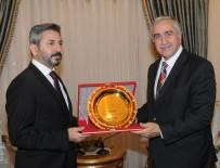 AHMET AYDIN - KKTC Cumhurbaşkanı Akıncı, TBMM Başkan Vekili Aydın'ı Kabul Etti