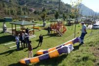 ÇOCUK PARKI - Manasur Piknik Alanı Çocuk Parkına Kavuştu