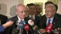 HUKUK DEVLETİ - İsmail Kahraman, Kılıçdaroğlu'nu ziyaret etti