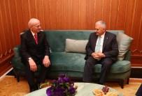 FATİH ŞAHİN - Meclis Başkanı Kahraman'ın Başbakan Yıldırım'a Yaptığı Ziyaret Sona Erdi