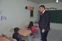 DAĞLıCA - Milli Eğitim Müdürü Canlı'dan Dağlıca'daki Okula Ziyaret