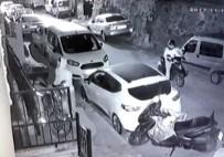PİTBULL - Motosikletle Gelip Motosiklet Çaldılar