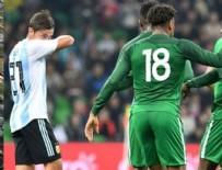 NIJERYA - Nijerya Arjantin'i dağıttı!
