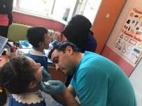 DİŞ FIRÇASI - Öğrencilere Ağız Ve Diş Sağlığı Taraması