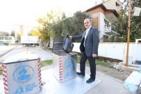 PAMUKKALE - Pamukkale Belediyesi'nden Yer Altı Çöp Konteyner