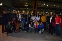 ARNAVUTLUK - Taekwondonun Balkan Fatihlerine Coşkulu Karşılama