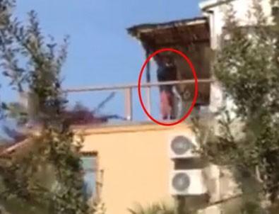 Tanem Sivar'ın köpeklerini öldürmekle suçlanan komşunun görüntüsü ortaya çıktı