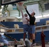 BASKETBOL TAKIMI - Trabzonspor Basketbol Takımı, Galatasaray Maçı Hazırlıklarını Sürdürüyor
