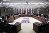 KAZANKAYA - YÖK Heyeti YYÜ Senatosuyla Bir Araya Geldi