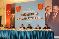 UĞUR BULUT - Ankara'da 51 Mahalle Muhtarı Taleplerini İletti