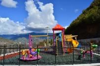 ÇOCUK PARKI - Artvin'e 3 Buçuk Yılda 34 Park Kazanırıldı