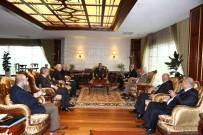KARAOĞLAN - ATO Başkanı Baran'dan Büyükşehir Belediye Başkanı Tuna'ya Ziyaret
