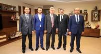 TÜRK DÜNYASI - Başkan Karaosmanoğlu, KOTO Başkanı Necmi Bulut'u Ağırladı