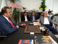 ABDURRAHMAN TOPRAK - Başkan Topraktan AK Parti İlçe Başkanı Yeni'ye Hayırlı Olsun Ziyareti