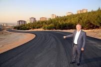 BEYKENT - Beykent'te Yeni Açılan Yollar Asfaltlanıyor