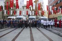 YÜCEL ÇELİKBİLEK - Beykoz'da Yeni Ambulanslar Göreve Hazır