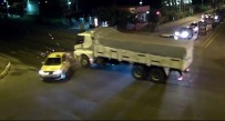 DÜZAĞAÇ - Bingöl'de Trafik Kazaları MOBESE'ye Yansıdı