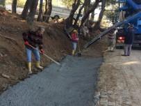 SARıLAR - Burhaniye'de Kırsal Mahallelerde Su Baskınlarına Belediye Önlemi