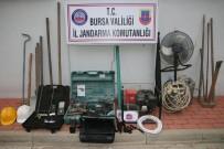 FÜNYE - Bursa'da Kaçak Kazıya 5 Gözaltı