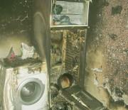 YANGINA MÜDAHALE - Buzdolabı Kapağı Düştü, Aile Ölümden Kurtuldu