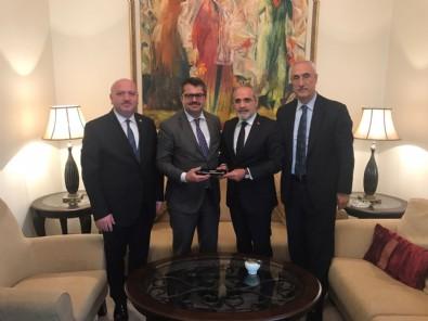 Yerli Düşünce Derneğinden  Jandarma Genel Komutanlığı ve Azerbaycan Büyükelçiliğine Ziyaret