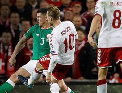 Danimarka son bileti kaptı