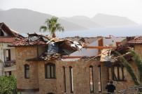 MEVLÜT ÇAVUŞOĞLU - Fırtına Ve Hortum Kaş'ta Villaları Vurdu