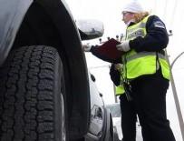TRAFİK KANUNU - Kış lastiği takmamanın cezası ne kadar?