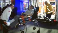 MUSTAFA YıLMAZ - Komşular Arasındaki Kavga Kanlı Bitti Açıklaması 3 Yaralı