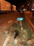 KARACAOĞLAN - Kozan'da Trafik Kazası Açıklaması 1 Yaralı