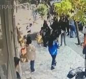 CIHANGIR - Liselilerin Sopalı Kavgası Kamerada