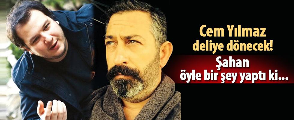 Şahan'dan Cem Yılmaz'a 'goygoycu' göndermesi