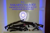 KURUSIKI TABANCA - Sakarya Polisi Şehirde Kuş Uçurtmuyor