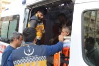 POLİS ARACI - Şanlıurfa'da Trafik Kazası Açıklaması 1'İ Polis 2 Yaralı