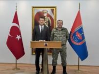 FATIH ÜRKMEZER - Ürkmezer'den Albay Çakmak'a Hayırlı Olsun Ziyareti